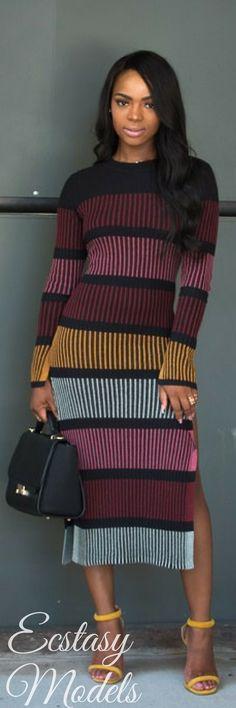 Sweater Dress by H&M // Fashion Look by Kalisha Shonta