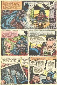 Page 9 from Detective Comics #420 by Frank Robbins
