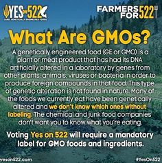 #GMO learn about it!