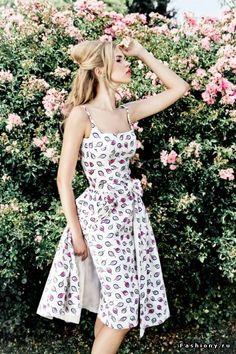 Lena Hoschek catálogo Primavera-Verano 2014