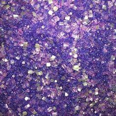 Bakery Bling™ Purple Glittery Sugar™ - Shop now: www.bakerybling.com