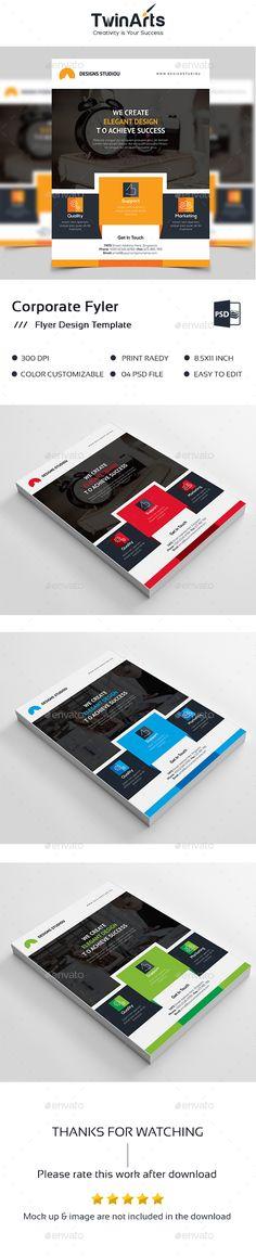 Shape Flyer #designer #graphic  • Download here → https://graphicriver.net/item/shape-flyer/17468043?ref=pxcr