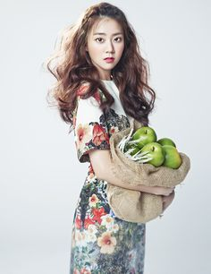 KARA's Seungyeon // Beauty+ // May 2013