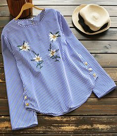 Take it easy! For breezy spring days! The casual top reveals your beauty and style. It's perfect for your spring break fun with friends!