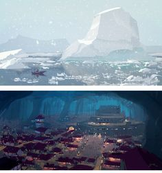 Speed paintings do artista Goro Fujita | THECAB - The Concept Art Blog
