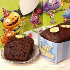 Monstrocake choco-courgettes de Henry Câlimonstre