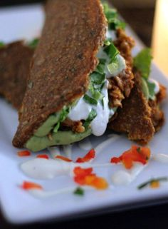 Top 10 Best Raw Lunch Ideas - including tacos  Follow www.hcgwarrior.com for…