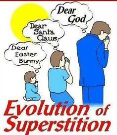 Reminds me of the shirt I wanted to do -  Santa Claus& Easter Bunny& Tooth Fairy& God