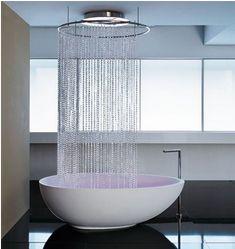 Fantastisk badekar med dusj