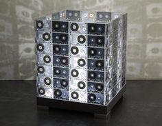 Lámpara Cassettes / Vintage /Reciclaje