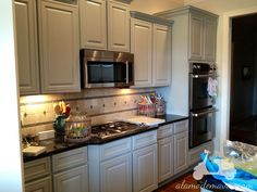 Painted Kitchen Cabinet Ideas | Kitchen Remodel Part 1- Better Pics Of The Painted Kitchen Cabinets