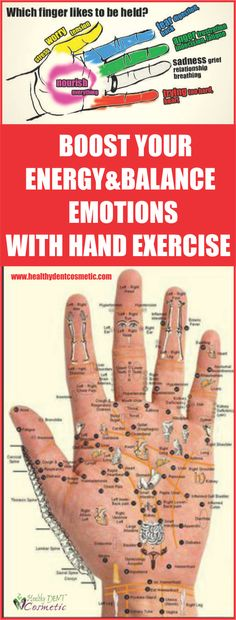 Boost Your Energy and Balance Emotions with Hand Exercises!!!