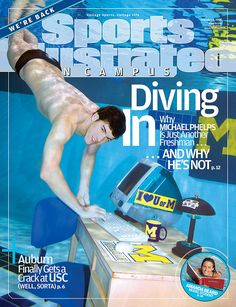 Michael Phelps SI Covers