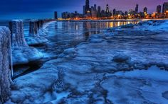 WALLPAPER DOMAIN: The city under the snow