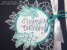 Falling Flowers - Stampin Up - Stamp It Up With Jaimi