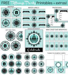 Tiffanys printable