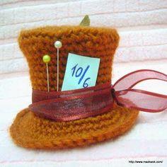 Mini Mad Hatter's hat - free amigurumi pattern | Be A Crafter xD | Bloglovin'
