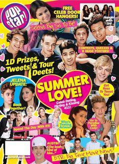 one direction magazine covers Tiger Beat, Star Magazine, Seventeen Magazine, Ross Lynch, I Love Books, Quizzes, Flirting, Memories, Magazine Covers