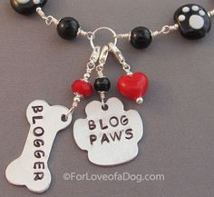 Personalized Paw Print  Dog Lover Necklace Blog Paws Jewelry