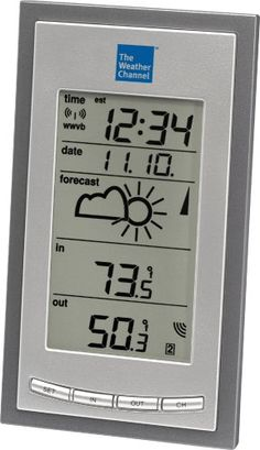 La Crosse Technology WS-9077U-IT Wireless Forecast Station >>> See this great product. (This is an affiliate link) #WeatherInstruments