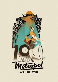 Metropol Kurier on Behance