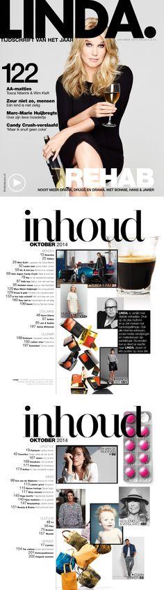 LINDA. tijdschrift abonnementen - voor de vrouw van nu