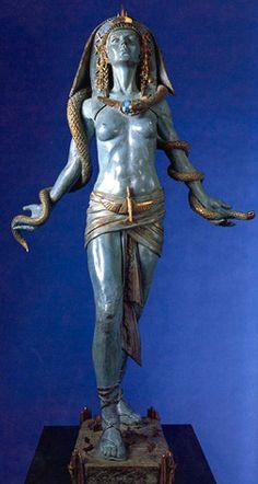 Egyptian Rocket Goddess by Audrey Flack Egyptian Mythology, Egyptian Goddess, Egyptian Symbols, Ancient Egyptian Art, Ancient Aliens, Ancient History, European History, Ancient Greece, Art History