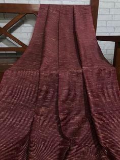 OFF Burgundy/Maroon Gichha Silk cotton fabric, Handloom Silk, Dress Apparel Fabric, Indian Wedding Silk, Fabric By the Yard Sale 50, Silk Fabric, Dress Outfits, Dresses, Dress Making, Burgundy, Indian, Gowns, Fashion Trends
