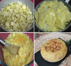 Tortilla española paso a paso http://carminaenlacocina.blogspot.com.es/2015/05/tortilla-de-patatas-lo-que-da-de-si-la.html