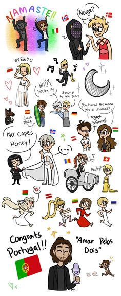 Eurovision 2017 Hetalia Style by Hactho..I was literally Prussia in that moment xD (I'm from Germany :D)