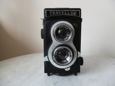 Appareil photo reflex TRAVELLER camera super lens n°102 #camera #photo #vintagedecor #vintage Polaroid, Appareil Photo Reflex, Casio Watch, Vintage Photos, Lens, Accessories, Lentils, Polaroid Cameras, Ornament