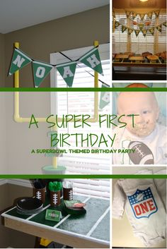 A Super First Birthday Party - Ooh La Laura