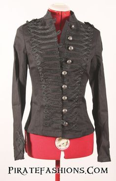 Lady Pirate Coats N Jackets – Pirate Fashions