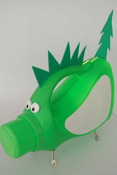 detergent bottle lamp