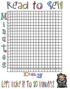 Make a big one for the classroom...take 4  5-minute SSR  breaks throughout the day to get in the 20 minutes