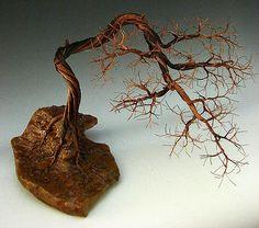 Bonsai Copper Wire Tree Sculpture-1473 Sculpture