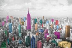Contemporary Colours in Manhattan - New York City - popartuk