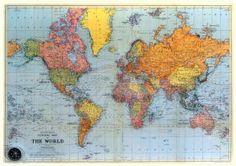 Voor een landkaart, reisgids of voor reisverhalen. Stanley & Livingstone. : Stanford's oude kaart wereld [oude kaart wereld 1925]