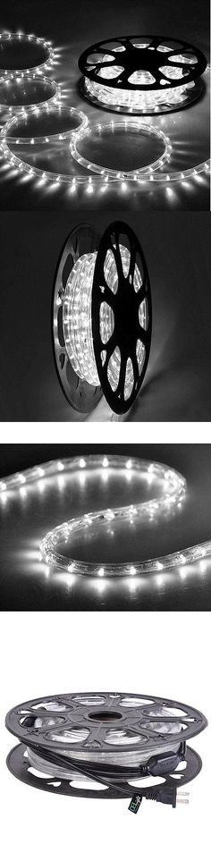 Lamps and lighting led rope light 2 wire 110v lighting outdoor xmas lamps and lighting delight 50 cool white led rope light 2 wire 110v home aloadofball Gallery