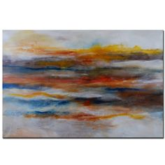 over the couch? Large Abstract Original Painting - Contemporary Painting by Andrada - 60x40