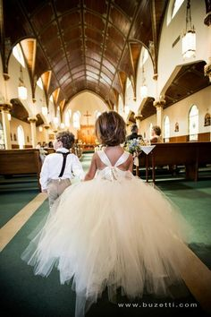 I had both a flower girl and a flower boy. Super cute! Photograph by Fernando Buzetti