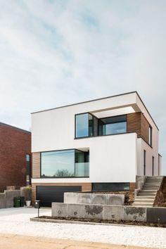 Blockoffice-architecten Woning te Wersbeek Strakke architectuur Hedendaags wonen www.blockoffice.be