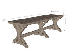 Simply Breathtaking 20$ DIY Farmhouse Bench Tutorial That You Will Want to Start Right Away-homesthetics.net (2)