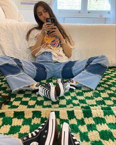 Retro Outfits, Cool Outfits, Fashion Outfits, Trendy Outfits, Mode Inspiration, Fashion Killa, Aesthetic Clothes, Passion For Fashion, Dress To Impress