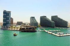 Al Bandar, Al Raha Beach Nuestros servicio en este proyecto corresponde a  (Diseño Postensado) Area total: 90.000 m2 , Nº de Edificios: 70 , Nº de Pisos por Edificio: 12-15 , Ubicación: Abu Dhabi, EmiratosArabes Unidos Abu Dhabi, Dubai, Beach, Outdoor Decor, Home Decor, Buildings, Flats, Projects, Seaside