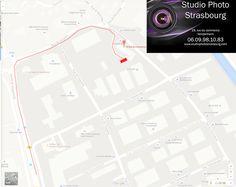le studio est situé 19 rue du commerce derriere le batiment de Terra Computer, tout au fond du parking à coté de Yogamove