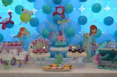 Under the Sea / Mermaid birthday party decoration - Just amazing!