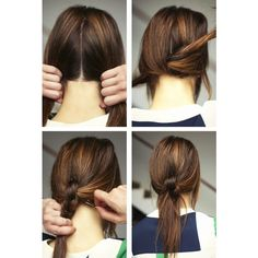 1000 Ideas About Cute Easy Ponytails On Pinterest