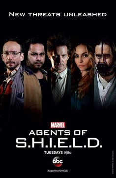 Cal and his new team of supervillains, due to appear on next week's Agents of SHIELD