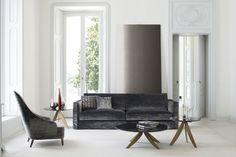 Danton velvet sofa made by BertO fine upholstery tailoring #madeinitaly #furniture